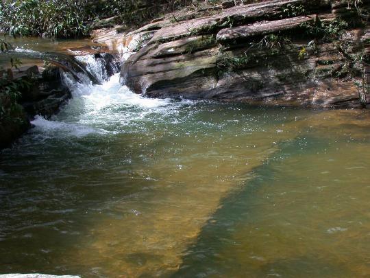 Poço da Cachoeira do Cânion