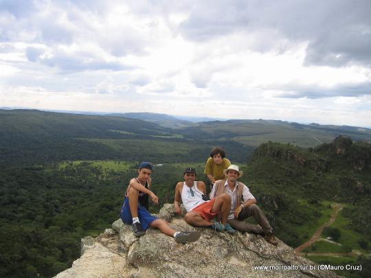Vista do Pico dos Pireneus