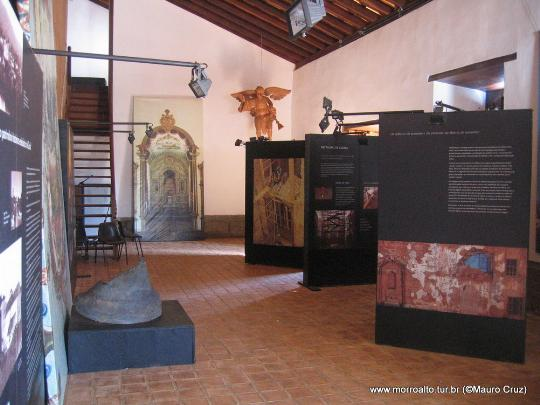 Museu no interior da Igreja matriz