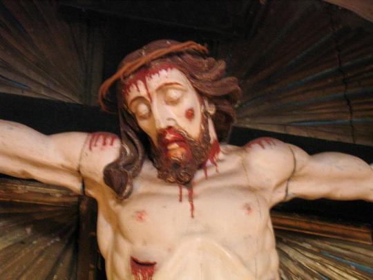 Senhor do Bonfim. Imagem-mor da Igreja do Bonfim